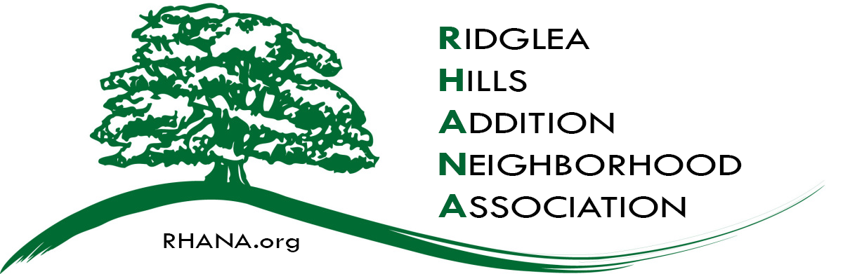 Ridglea Hills Addition Neighborhood Association